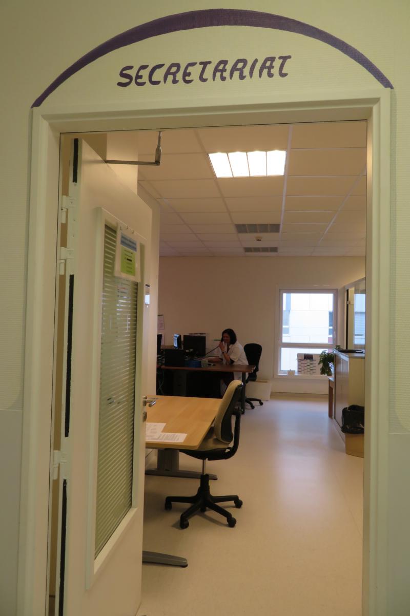 Secrétariat du Service réanimation Centre Hospitalier Sud Francilien (91)